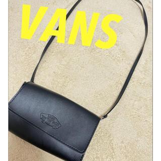 ヴァンズ(VANS)の‼️値下げVANS ブラック ショルダーバッグ 財布(ショルダーバッグ)