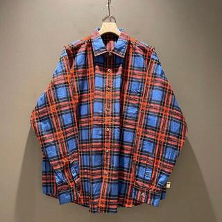 ビームス(BEAMS)のSSZ BEAMS NEIL SHIRT BLUE CHECK ネルシャツ(シャツ)