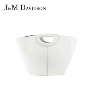 """ジェイアンドエムデヴィッドソン(J&M DAVIDSON)のJ&M DAVIDSON / """"MARKET"""" TOTE BAG M ホワイト(トートバッグ)"""