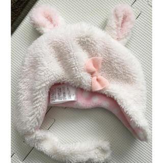 クーラクール(coeur a coeur)のウサギ帽子(帽子)