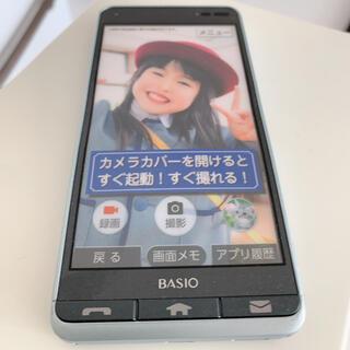キョウセラ(京セラ)のBASIO Android スマホモック(スマートフォン本体)