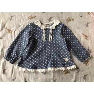 クーラクール(coeur a coeur)のクーラクール プルオーバー ブルー 95cm(Tシャツ/カットソー)