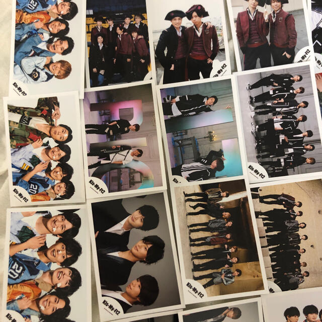 Kis-My-Ft2(キスマイフットツー)のKis-My-Ft2 混合 集合 公式写真 24枚セット 全員 まとめ売り チケットの音楽(男性アイドル)の商品写真
