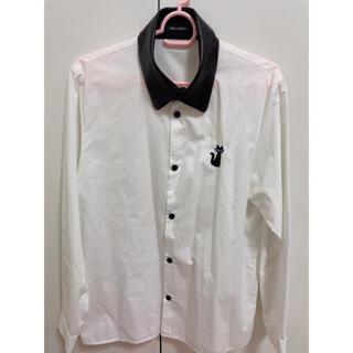 ミルクボーイ(MILKBOY)のMILKBOYキャットワッペンシャツ(シャツ)