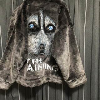 バレンシアガ(Balenciaga)のdoublet hand paint Fur jacket (その他)