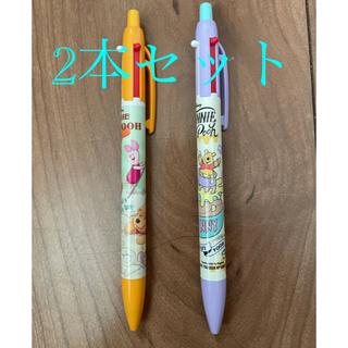 クマノプーサン(くまのプーさん)のプーさん2本セット 2色ボールペン+シャーペン (ペン/マーカー)