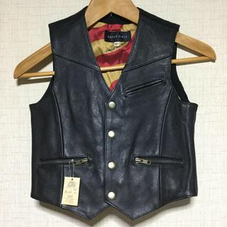 グリモワール(Grimoire)の*値下げ ¥2111→¥1888  スーパーライダー 牛革 ベスト 130cm(ジャケット/上着)
