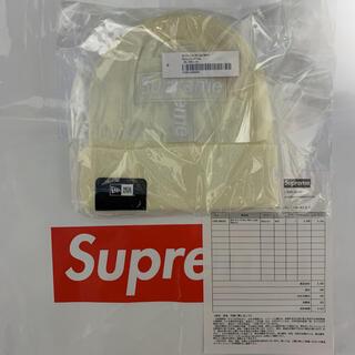 シュプリーム(Supreme)のSupreme New Era Cross Box Logo Beanie(ニット帽/ビーニー)