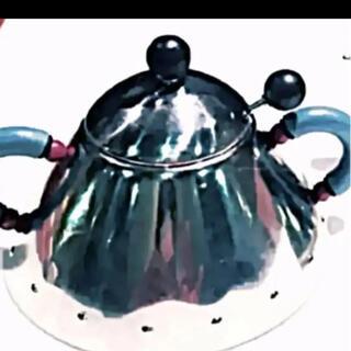 アレッシィ(ALESSI)のアレッシィ シュガーポット [美品]イタリア製ステンレス製¥13,700の品(テーブル用品)