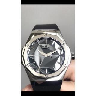 ウブロ(HUBLOT)の【最終値下げ】美品 ウブロ オーリンスキー クラシックフュージョン 高級時計(ラバーベルト)
