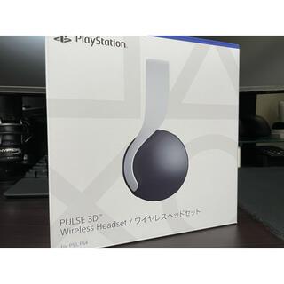プレイステーション(PlayStation)の【純正品】PULSE 3D ワイヤレスヘッドセット (CFI-ZWH1J)(ヘッドフォン/イヤフォン)