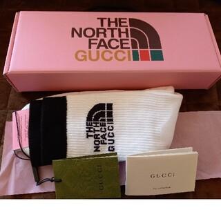 グッチ(Gucci)の【最終価格】GUCCI  THE NORTH FACE ソックス (ソックス)