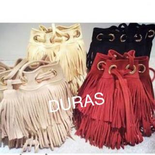 デュラス(DURAS)の新品  デュラス  フリンジショルダーバッグ(ショルダーバッグ)