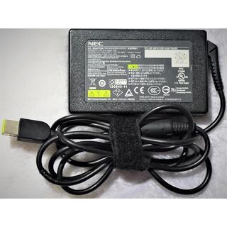 エヌイーシー(NEC)の薄型(スリム) ACアダプター 65W20V3.25A(Lenovo互換)角型(その他)