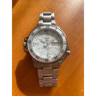 セイコー(SEIKO)の希少 ホワイトアトラス セイコー スポーツ(腕時計(アナログ))