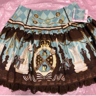 アンジェリックプリティー(Angelic Pretty)のAngelic Pretty  Chess Chocolate スカート ミント(ミニスカート)