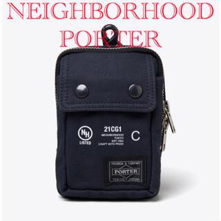 ネイバーフッド(NEIGHBORHOOD)の【新品】 neighborhood porter / C-CASE ポーチ(ボディーバッグ)
