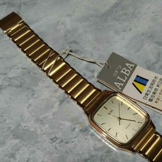 アルバ(ALBA)のレトロ ALBA 腕時計(腕時計(アナログ))