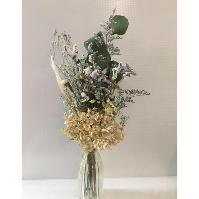 ドライフラワー スワッグ ブーケ 花束 ハンドメイドのフラワー/ガーデン(ドライフラワー)の商品写真