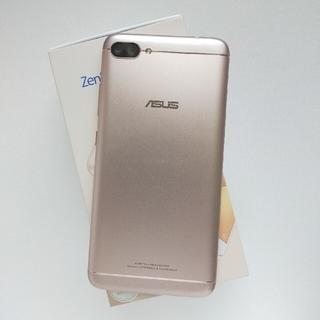 エイスース(ASUS)のZenFone4 MAX Pro 32g ゴールド ジャンク ZC554KL(スマートフォン本体)