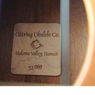 ウクレレ Gstring ジーストリング  made inハワイ