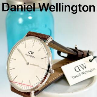 ダニエルウェリントン(Daniel Wellington)の9 ダニエルウェリントン 新品未使用品 40mm 新品電池 シンプル(腕時計)
