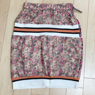 メルシーボークー(mercibeaucoup)のmercibeaucoup, スカート(ひざ丈スカート)