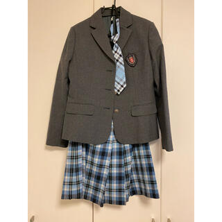 ザスコッチハウス(THE SCOTCH HOUSE)のスコッチハウス 160A 卒業式 女の子 スーツ上下 ネクタイ(ドレス/フォーマル)