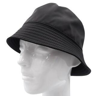PRADA - プラダ帽子 ナイロン ハット NERO ブラック黒 40800066454