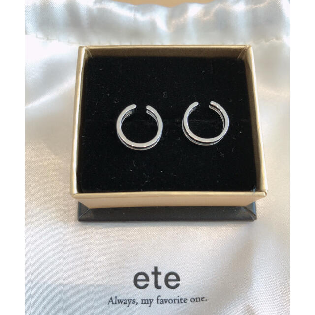ete(エテ)のeteイヤリング レディースのアクセサリー(イヤリング)の商品写真