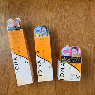 イオナ(IONA)の新品未使用 イオナエフ 洗顔フォーム ローション クリーム(化粧水/ローション)