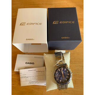 カシオ(CASIO)の新品 逆輸入 CASIO カシオ EDIFICE エディフィス 腕時計(腕時計(アナログ))