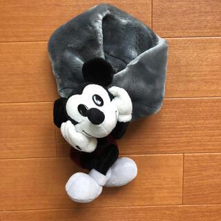 ディズニー(Disney)のキッズミッキーマフラー(マフラー/ストール)