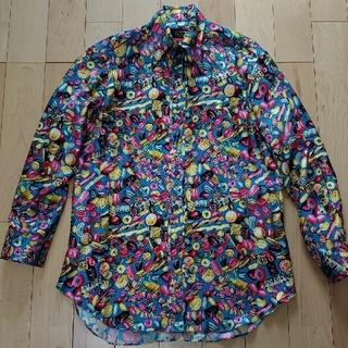 フィッチェ(FICCE)の【超激レア‼️現品限り】ficce国産シルク100%デザインシャツ(シャツ)