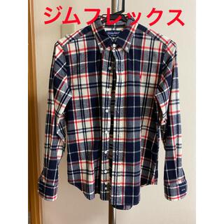 ジムフレックス(GYMPHLEX)のネルシャツ 長袖 チェックシャツ レディース ジムフレックス(シャツ/ブラウス(長袖/七分))
