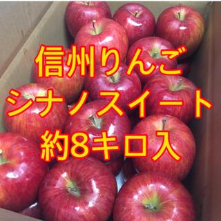 信州りんご シナノスイート約8キロ  a(フルーツ)