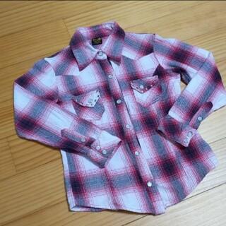 レイアリス(Rayalice)のレイアリス チェックシャツ 120(Tシャツ/カットソー)