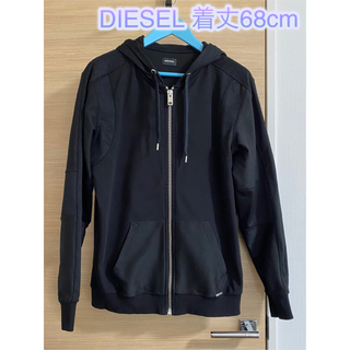 ディーゼル(DIESEL)の期間限定セール✨【良品】Diesel ディーゼル ジップアップパーカー 黒(パーカー)