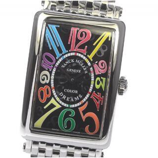 フランクミュラー(FRANCK MULLER)の☆美品 フランクミュラー ロングアイランド 952QZ レディース 【中古】(腕時計)