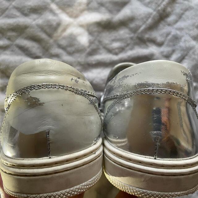 JIMMY CHOO(ジミーチュウ)のJIMMY CHOO スタースタッズ レザー スリッポン レディースの靴/シューズ(スリッポン/モカシン)の商品写真