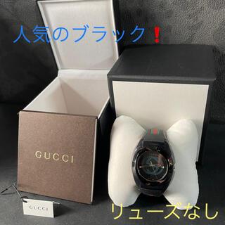 グッチ(Gucci)の◆GUCCI/グッチ SYNC XXL クォーツ  メンズ腕時計 リューズなし(ラバーベルト)