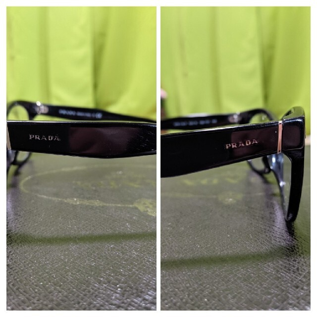 PRADA(プラダ)のティアニー☆様専用❗PRADA メガネ ❗クリアレンズ❗ メンズのファッション小物(サングラス/メガネ)の商品写真