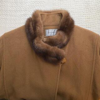 Lochie - vintage fur collar coat