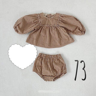 フタフタ(futafuta)の【即納】韓国子供服 ベビー セットアップ 73 /キッズ おしゃれ カジュアル(Tシャツ)
