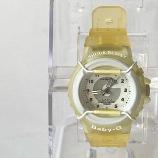 ベビージー(Baby-G)の【未使用・黄ばみあり】CASIO Baby-G BG-10-7T 腕時計(腕時計)