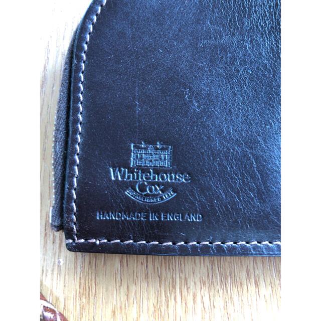 WHITEHOUSE COX(ホワイトハウスコックス)の【美品】ホワイトハウスコックス コインケース 小銭入れ 春財布 メンズのファッション小物(コインケース/小銭入れ)の商品写真