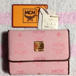 エムシーエム(MCM)のMCMお財布  未使用ですが長期保管(財布)