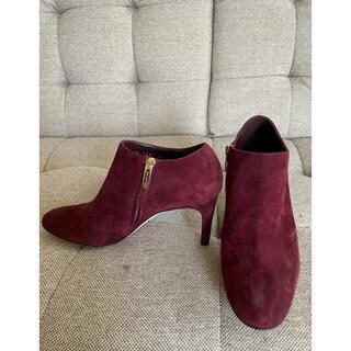セルジオロッシ(Sergio Rossi)のセルジオロッシ ショートブーツ スエード サイズ23センチ 美品(ブーツ)