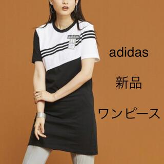 adidas - ワンピース 黒