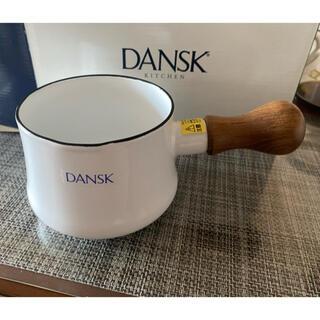 ダンスク(DANSK)のダンスク バターウォーマー ホワイト 新品(鍋/フライパン)